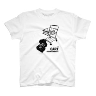 CART ABANDONMENT T-shirts