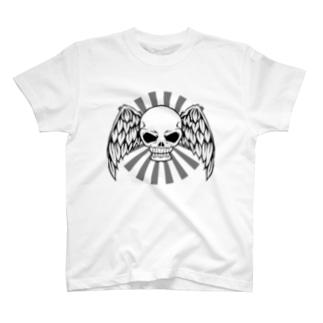 スカルと翼 T-shirts