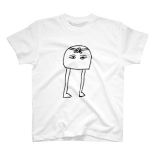 はちまきメジェド神 T-shirts