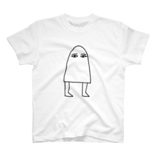 Sylvia T Egyptのメジェド神 T-shirts