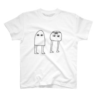 Wメジェド神 T-shirts