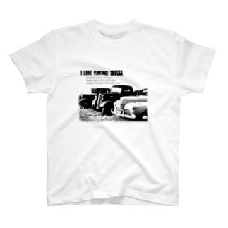 レトロトラック T-shirts