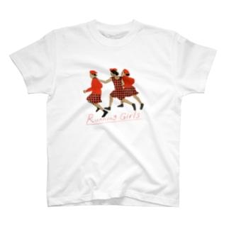 Running Girls T-shirts