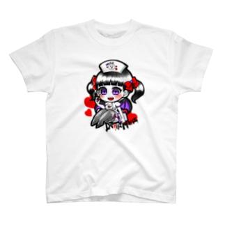 白衣の悪魔ちゃん♥ T-shirts
