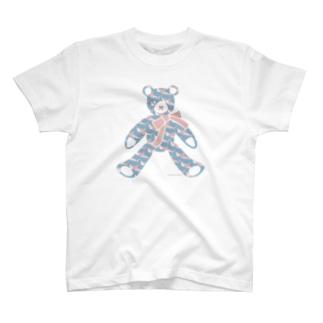 テディベア好きのためのサメ T-shirts