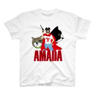 山田かおりクラブ T-shirts