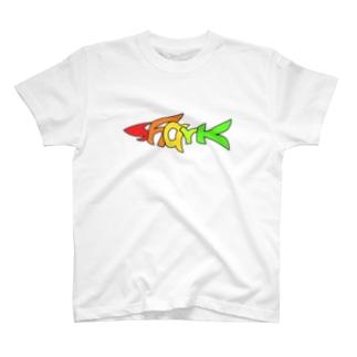 TuneBsideのSHARK T-shirts