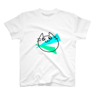 らくがきねこ T-shirts