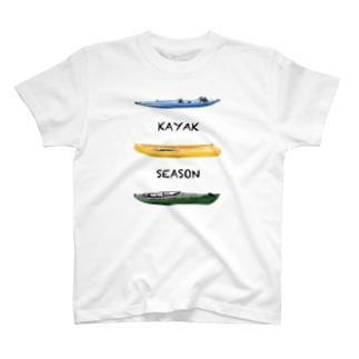 KAYAK SEASON T-shirts