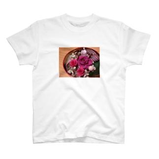 プリザーブドフラワー T-shirts