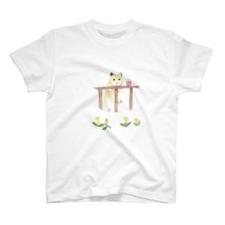 【KAMAP】ポップコーンとキンクマ T-Shirt