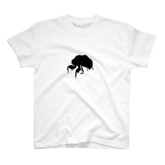 セミの抜け殻 T-shirts