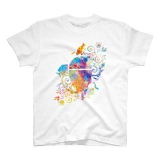 アートチック海物語IN沖縄 T-shirts