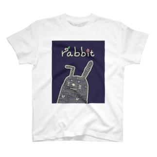 俺はウサギくん Tシャツ