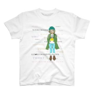 SUZURIのTシャツが大好きな少女 T-shirts