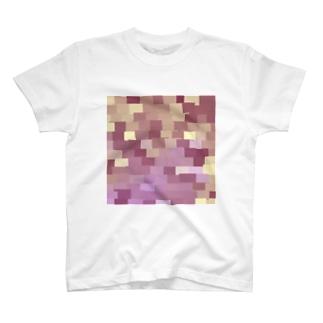 モザイクれんが〈Drawing〉 T-shirts