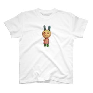 つきうさぎ T-shirts