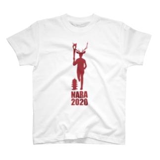 オリンピック鹿ランナー T-shirts