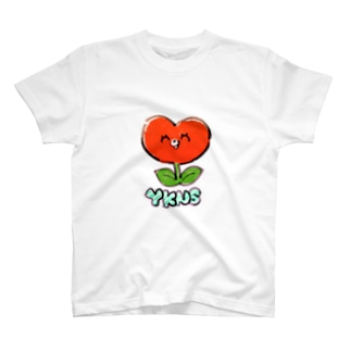 しょくぶつマン(赤) T-shirts