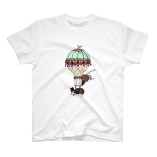 Classic Air Balloon-male T-shirts