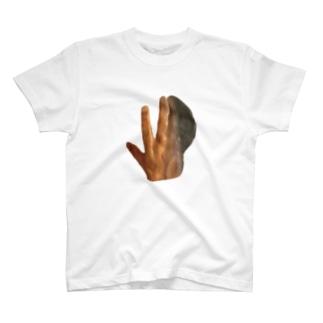 イルカ人魚の標本(手) T-shirts