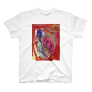 赤髑髏 T-shirts