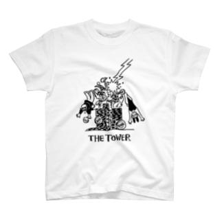 チップタワー T-shirts