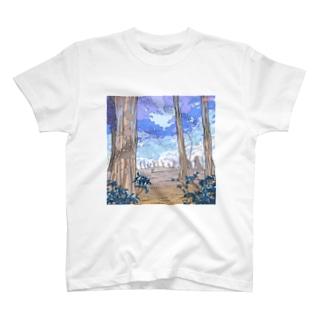 冬のはじまり T-shirts