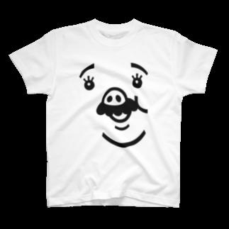 TONKATSU GOODS SHOPのシンボリック・ロース T-shirts