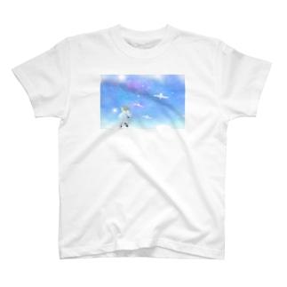 白鳥とイーノック T-shirts