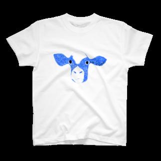 NIKORASU GOの牛 T-shirts