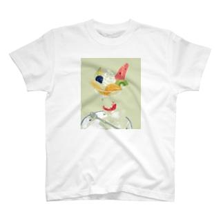 ごほうびパフェ T-shirts