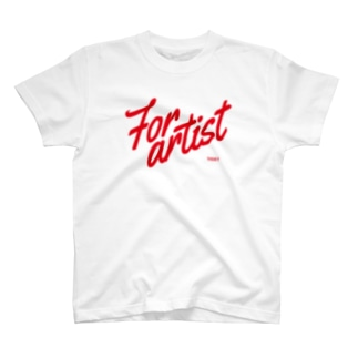 For artist red T-Shirt