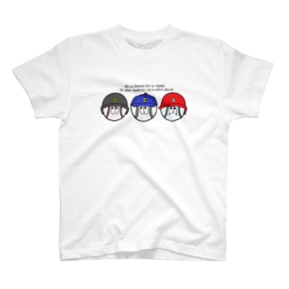 ベースボール/モンスター T-shirts