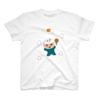 妖精が集う丼な神さま T-shirts