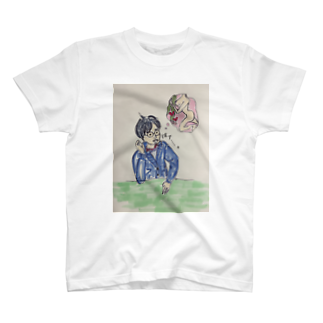 migawariのおひげのお兄さん、ため息 T-shirts