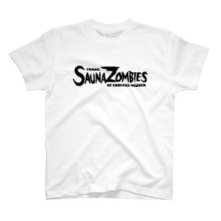 SAUNAZOMBIES -FAMOUS LOGO & SATORI DOKURO T - T-shirts