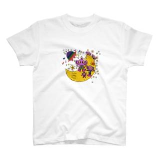 ゆるかわ宇宙人5 T-shirts
