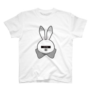 ラビット・ユキネTシャツ(プライバシーVer.)  T-shirts