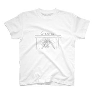 シャコin車庫 T-shirts