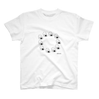おにぎりサークル T-shirts