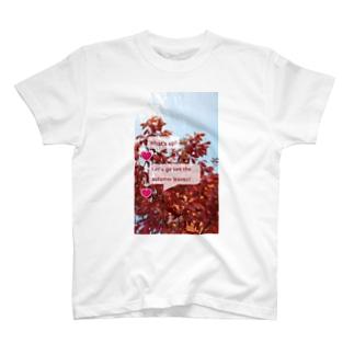 紅葉を見に行こうよう。 T-shirts