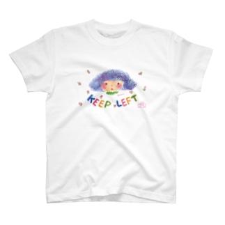 KEEP LEFT Shokoran T-shirts
