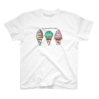 アイス/モンスター T-shirts
