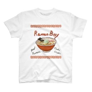 ラーメンボーイ T-shirts