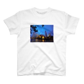 みなとみらいの夜景 T-shirts