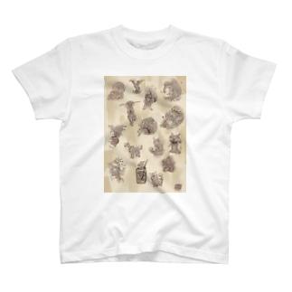 ふしぎな幻獣コレクション3 T-shirts