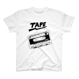 tape T-shirts