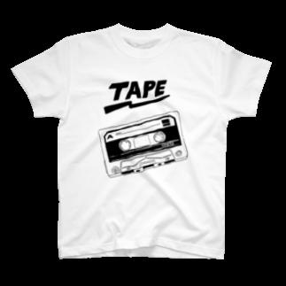 ちはりのtape T-shirts