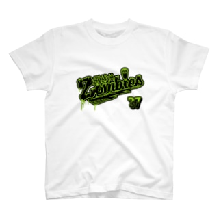 SAUNAZOMBIES -BASEBALL T - T-shirts